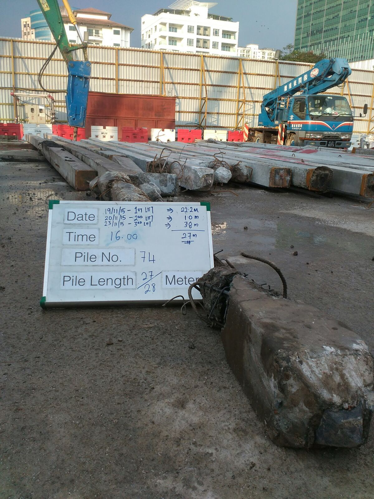 Foundation Pile Extraction Malaysia