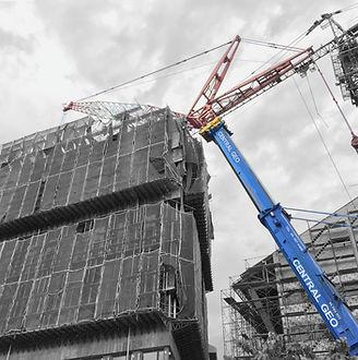 Giant Mobile Crane