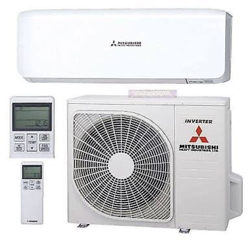Mitsubishi Mhi 3.2 kw - Cools & Heats 1 Large Bedroom + 2 Small Bedrooms