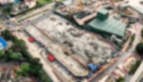 Demolition MRT Project Malaysia