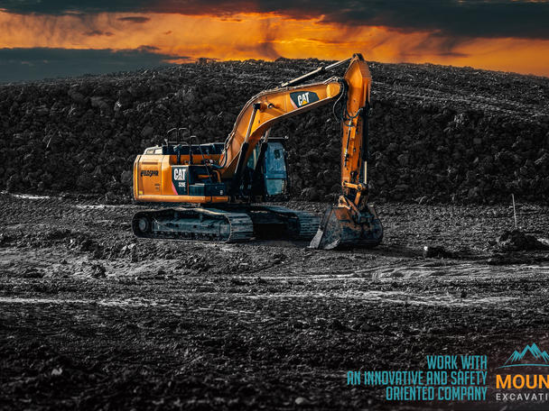 Industrial Photographer. Mount  Excavation
