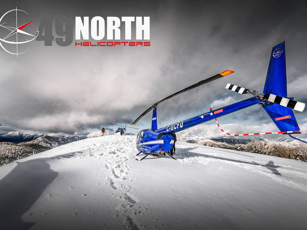 49 North Helicopters. Commercial photography