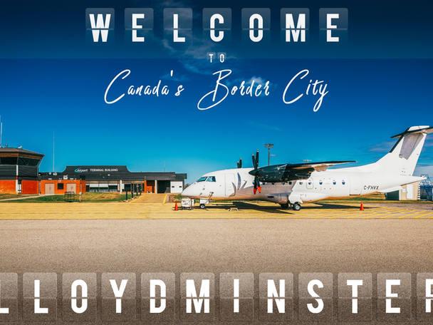 Commercial photographer. Lloydminster Airport