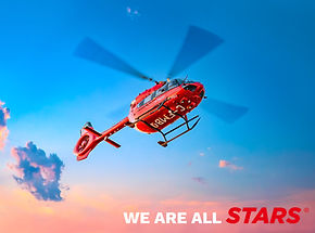 Stars Air Ambulance. VO IMAGES