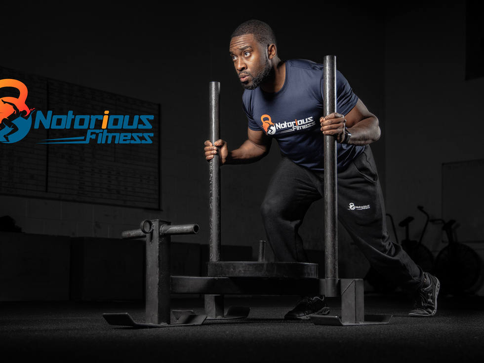 Notorious Fitness. Gym, sport photography