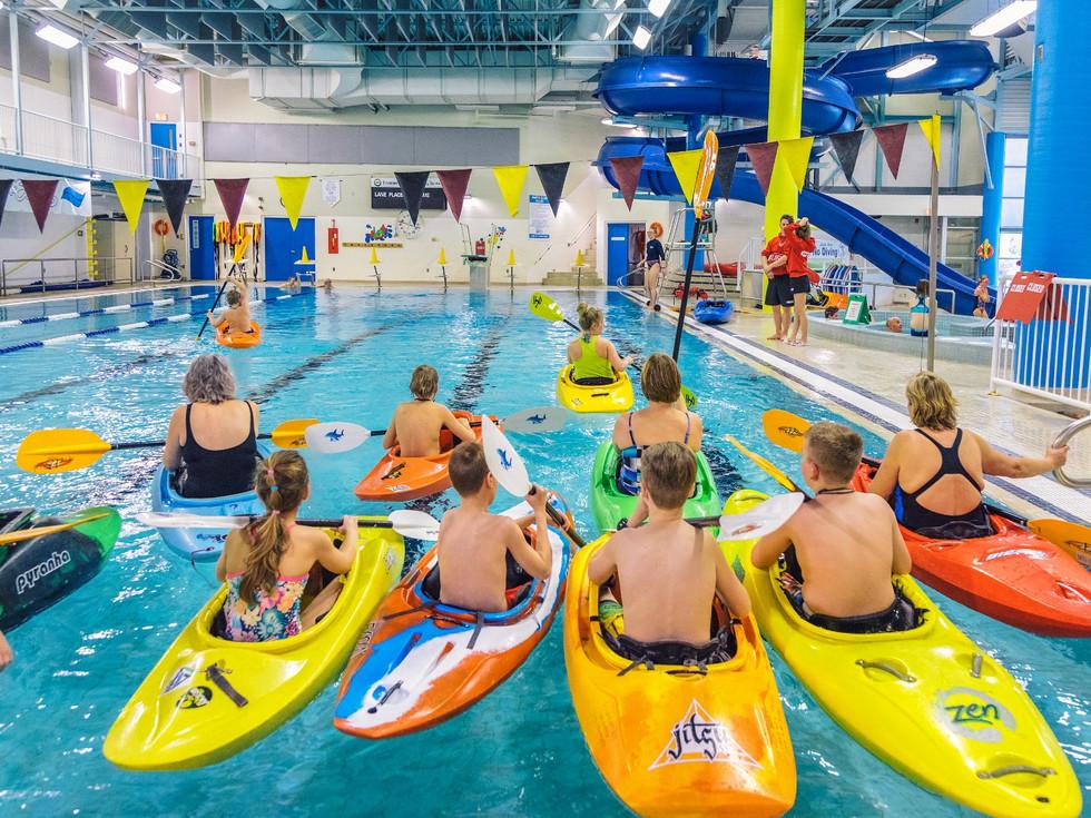 Kayaking (Pool Course)