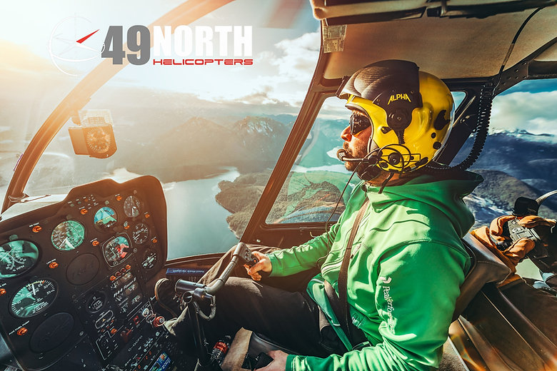 49 North Helicopters. Commercial photogr
