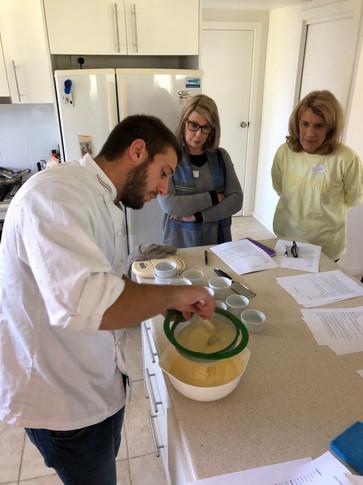 Creating Crema Catalana.JPG