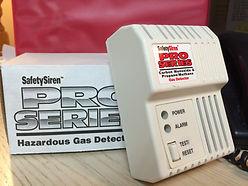 hazardous gas detectors safety siren pro series johnson propane