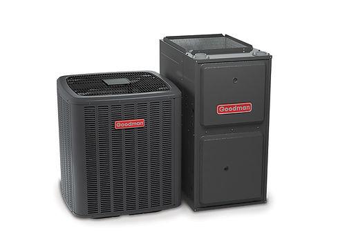 Johnson Propane Goodman Air Conditioner Furnace