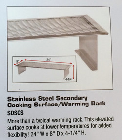Secodary Cooking Surface