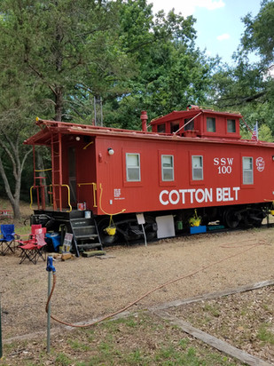 The Caboose (1940) & Camping Park