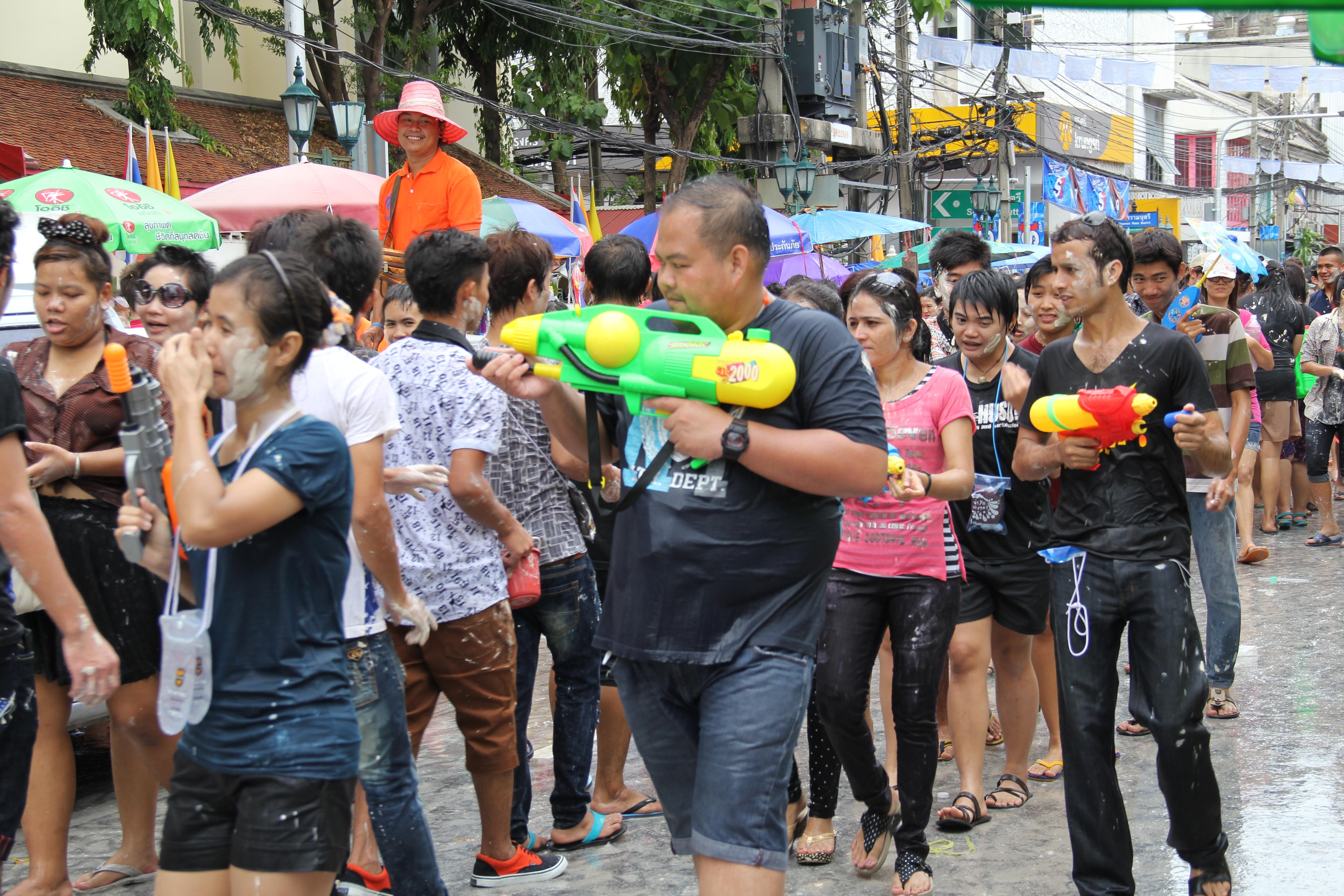 Songkran (nouvel an thai)