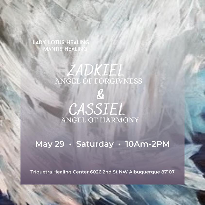 Zadkiel & Cassiel Yoga and Learning