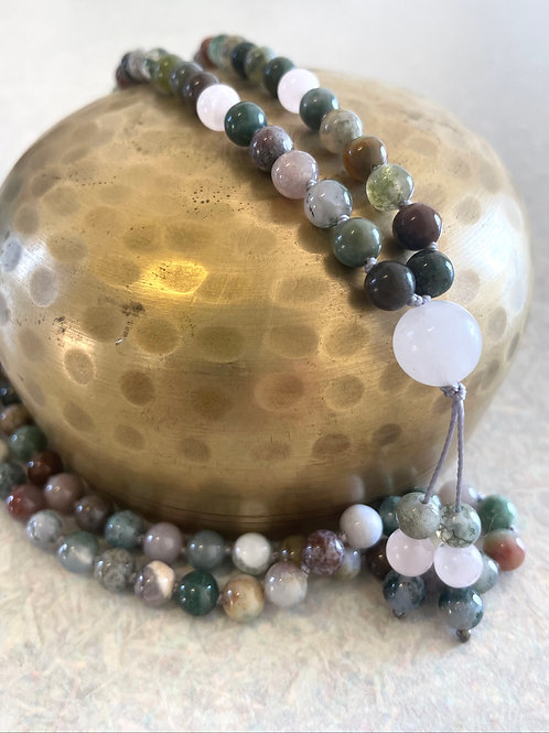 Indian Agate & Moonstone