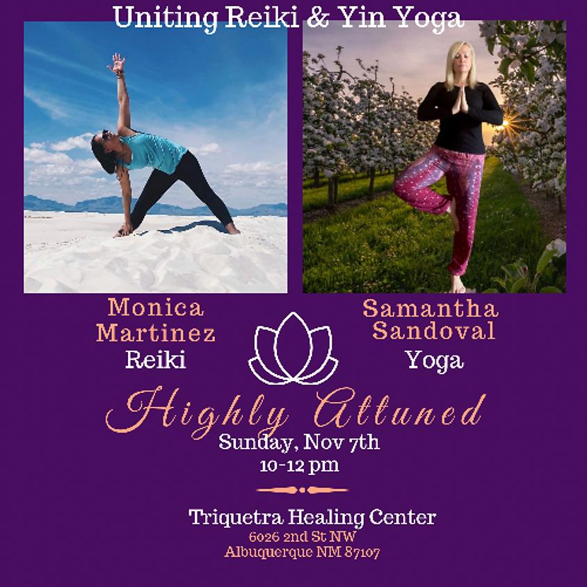 Yin Yoga & Reiki