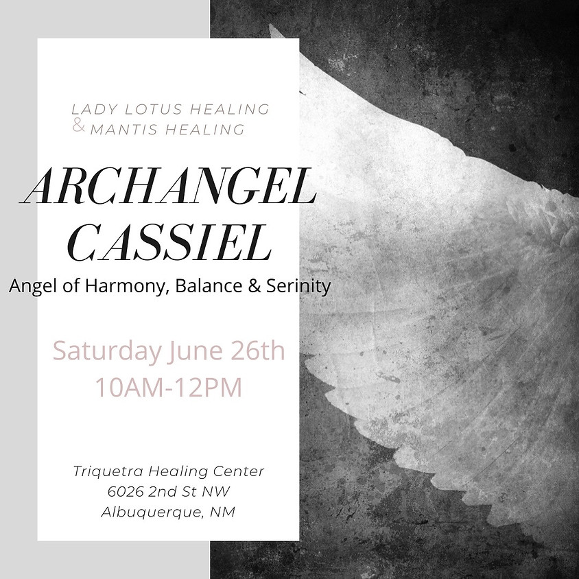 Archangel Cassiel Yoga & Learning