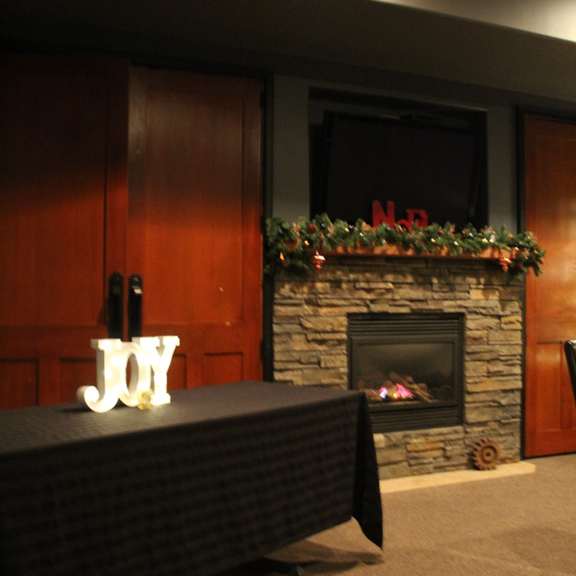 Christmas in the Banquet Room