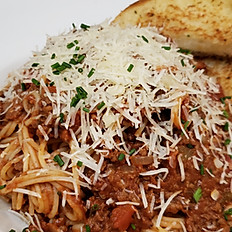 Spaghetti and Meat Sauce