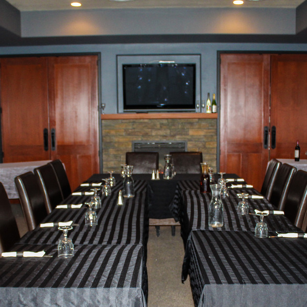 Banquet Room for daytime