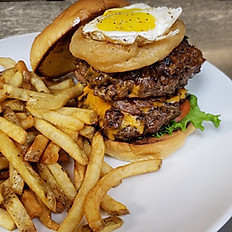 The Pit Master Burger