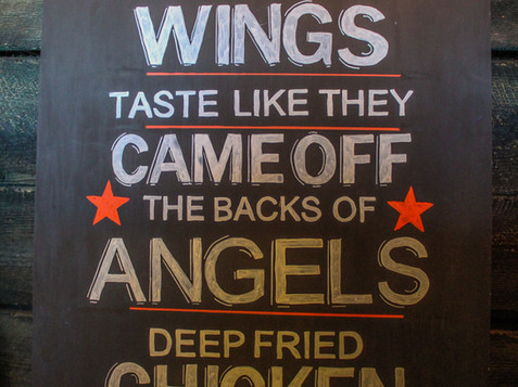 Heavenly wings