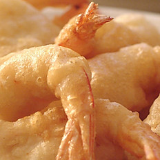 Beer Battered Prawns & Fries