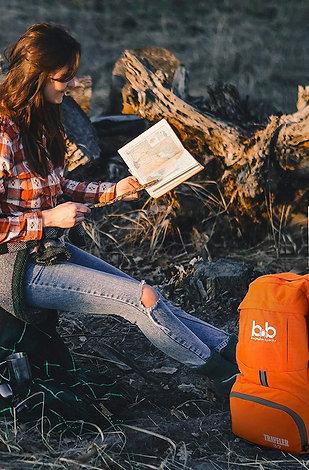 B&B Lightweight Foldable Travel Hiking Backpack