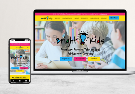 Bright Kids | Tutoring Company