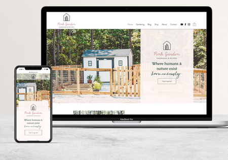 The Pink Jardin   Blog