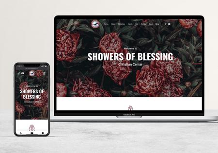 Shower of Blessing   Church