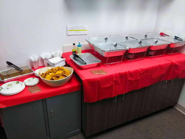 Catering for University of Miami Office of Financial Planning