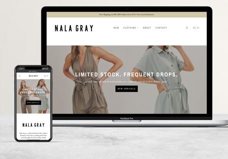 Nala Gray   Clothing Boutique