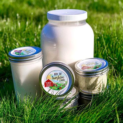 Goat Milk Yogurt - Gogurt (16 oz. jar)