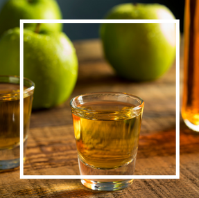 Apple Bourbon (Alcohol Infused)