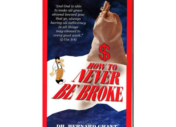 How to Never Be Broke