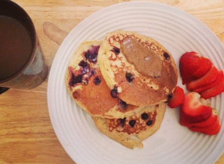 Clean Blueberry Pancakes