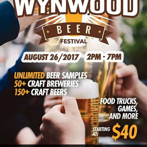 Catering at the Wynwood Beer Festival
