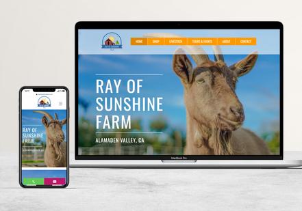 Ray of Sunshine Farm   Farm Goods & Events