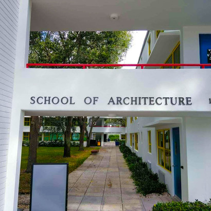 Catering for the University of Miami School of Architechture!