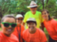 Members of the Clear Creek Trail Task Force