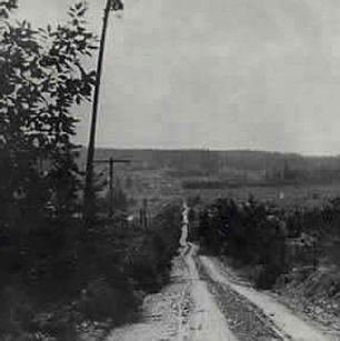 Buckin Hill Road in 1921