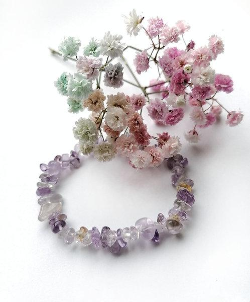 Ametrine stretch bracelet