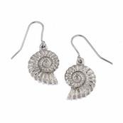 Ammonite earrings £14.75
