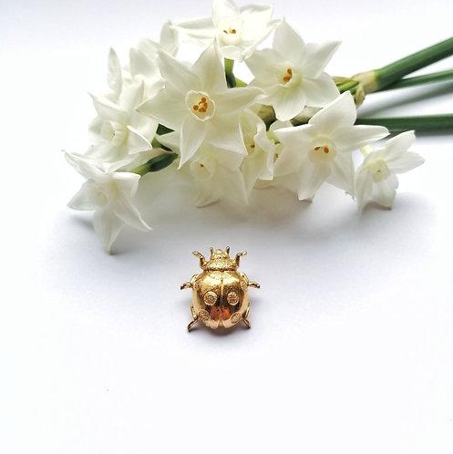 Ladybird Lapel pin