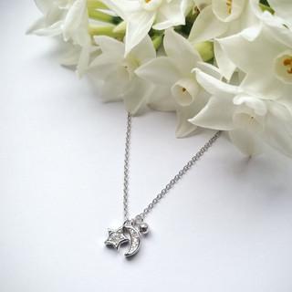 Silver celestial necklace £30.00