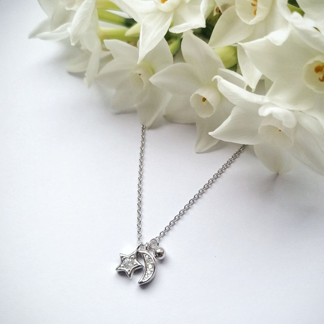 Silver celestial necklace £30.00