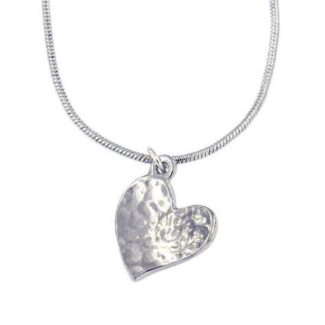 Heart pendant £16.75