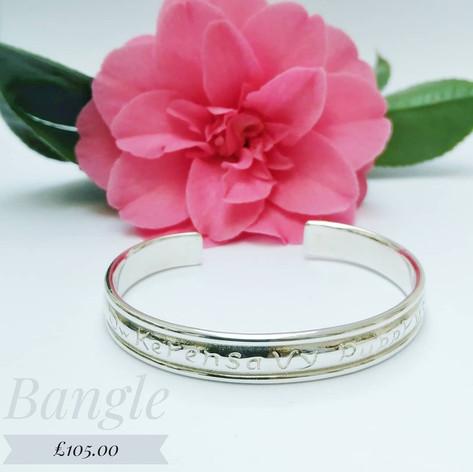 Cornish love open bangle £105.00