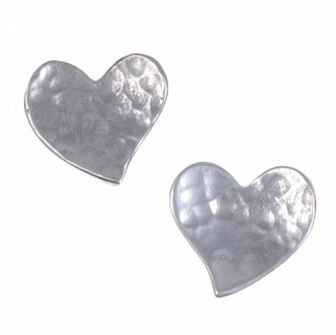 Heart studs £17.24